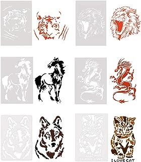 Best tiger stencil designs Reviews