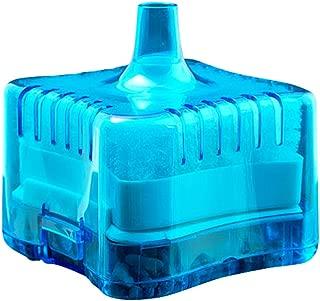 Bestgle Mini Filter Goldfish Bowl Beta Fish Tank All Water Type Corner Filter with Triple Filtration System Blue
