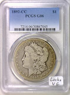 Best 1892 cc morgan silver dollar pcgs Reviews
