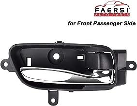 FAERSI Interior Door Handle Front Right Passenger Side Fits 2013-2019 Nissan Pathfinder Altima 2015-2018 Murano 2017-2019 Titan 2016-2019 Titan XD, 80670-3TA0D