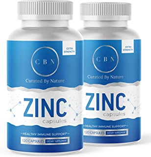 240 Count Zinc Picolinate 50mg Zinc Supplement for Adults and Kids, Highly Absorbable for Immune...