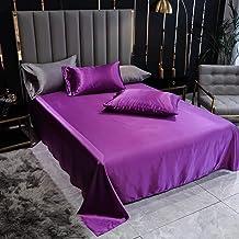 UKUCI 1 st Flat Beddengoed Sheet Enige/Double/Queen/King Size sabanas de cama Effen Kleur Huidvriendelijk Bedlaken Voor Vo...