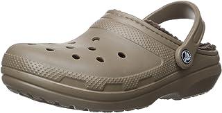 Crocs Men's Classic Lined Clogs, Black/Black, 10 AU
