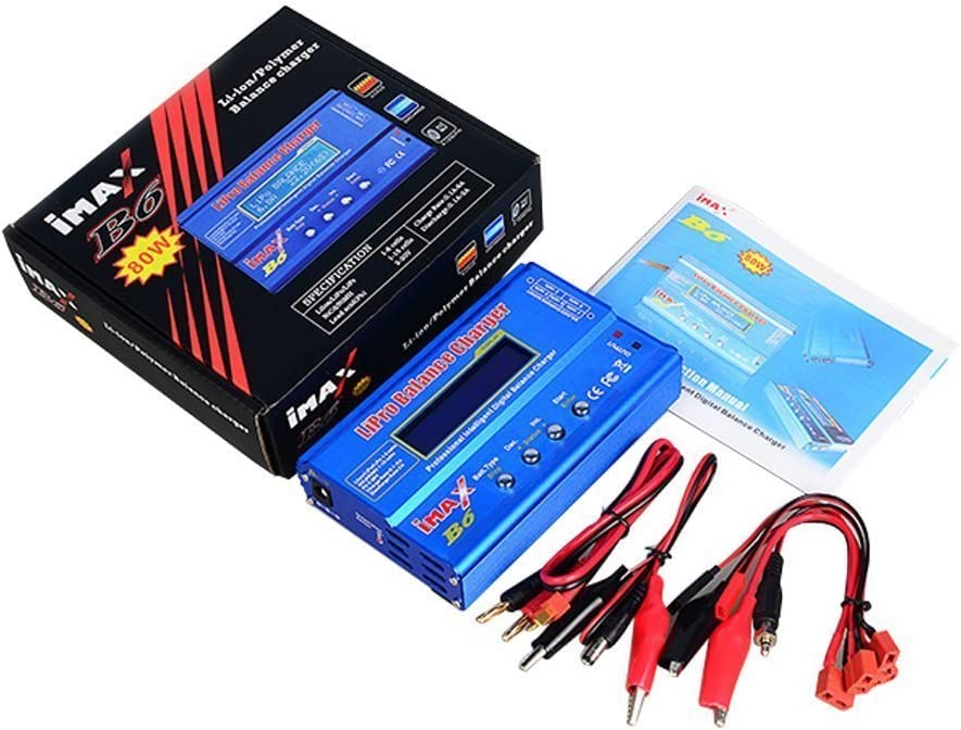 Woltechz iMAX B6 Intelligent Multifunction Rc Hobby Lipo Battery Balance Charger