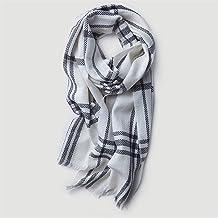 SLM-max sjaal vrouwen,Damessjaals Unisex-sjaal Tartan-omslagsjaal Lange sjaal Winter Warme gezellige sjaal Zachte grote de...