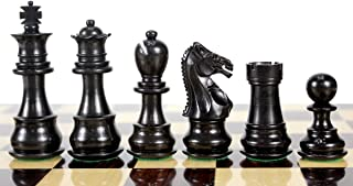 House of Chess - Ebony / Boxwood Chess Pieces Galaxy Staunton 3