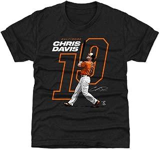Chris Davis Baltimore Baseball Kids Shirt - Chris Davis Offset