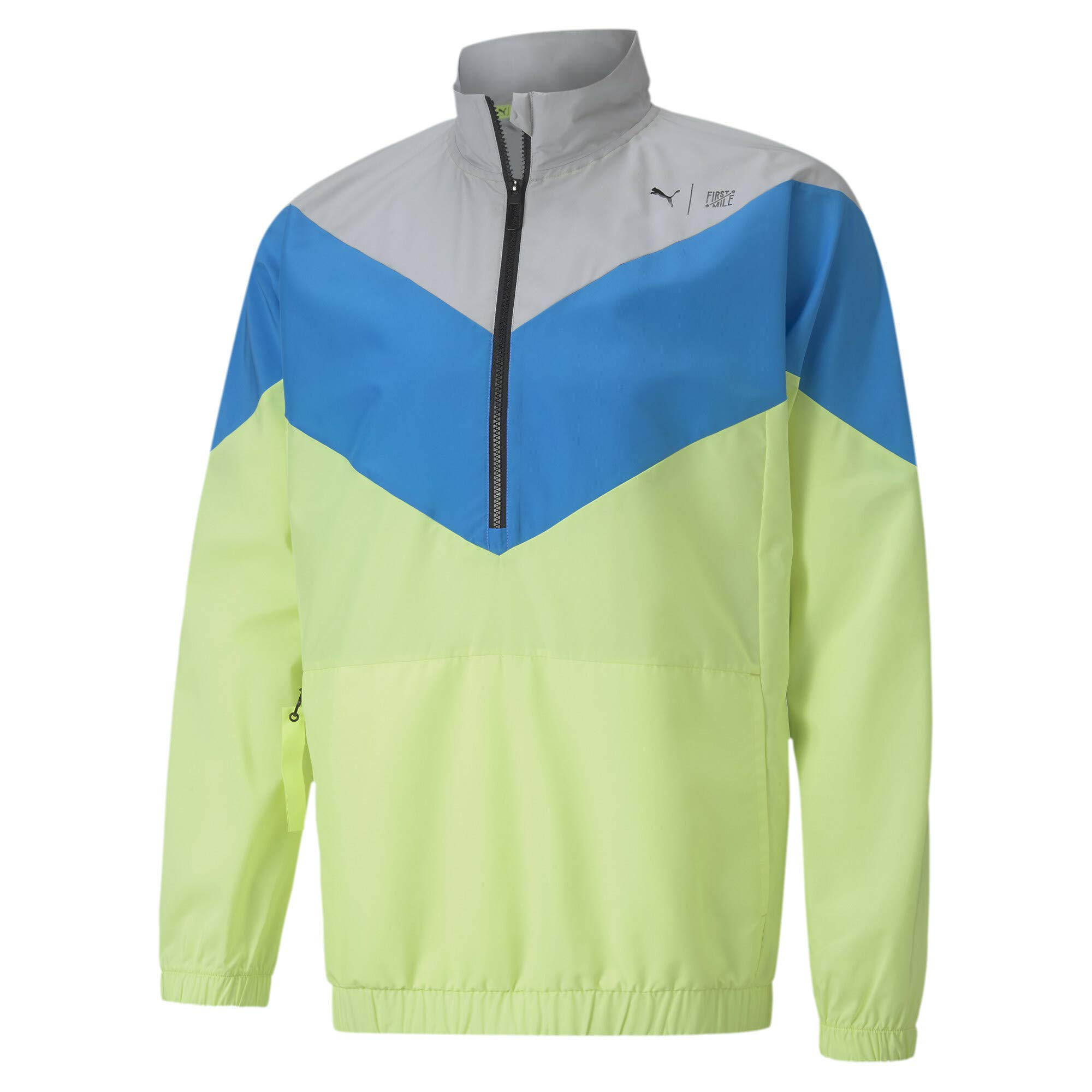PUMA Herren Train First Mile Xtreme Woven Jacket Trainingsjacke, Gray Violet-NRG