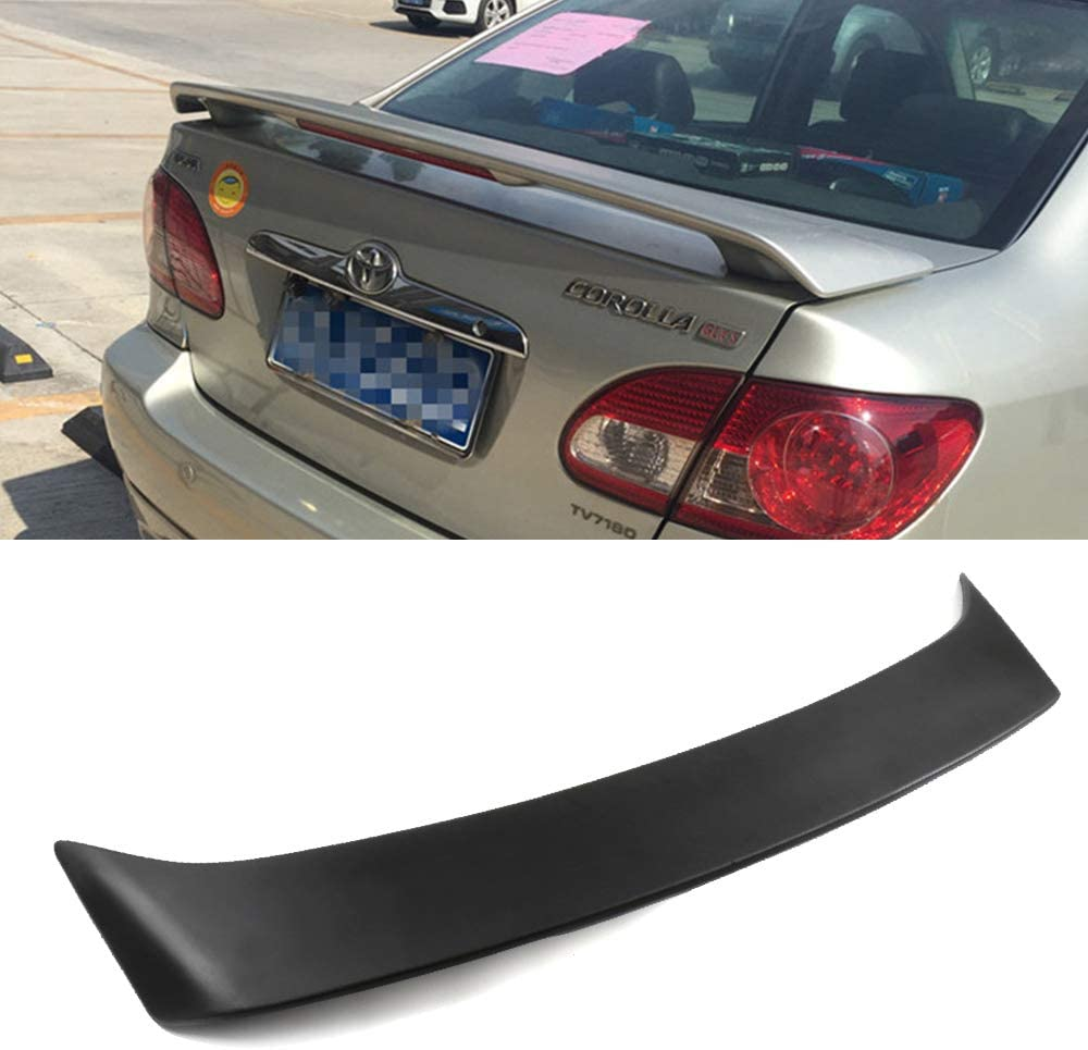 CTCAUTO ABS 高品質 Rear Spoiler Wing Compatible oy T 2003-2008 with 超定番 for