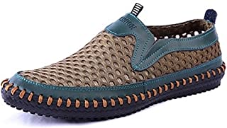 Men's Water Shoes Mesh Casual Walking Shoes Slip-On Loafers