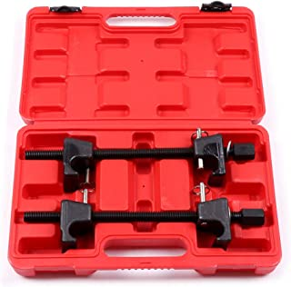 ECCPP 2pc Coil Spring Compressors for Macpherson Struts Shock Absorber Car Garage Tool with Detent Pins