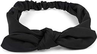 styleBREAKER cinta para el pelo de mujer monocolor con lazo y goma elástica, cinta para la frente, pinup, rockabilly 04026035