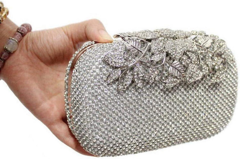 HKDUC Blaume Kristall Frauen Handtaschen Luxus Diamant Gold Farbe Abendtaschen Hochzeit Handtasche Strass Party Geldbrse