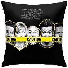 ALASANG It's-Always-Sunny-in-Philadelphia-Season Pillowcase Polyester Cushion Cover Fundas de Almohada Cubierta de cojín Sofa Home Cojines Decoración