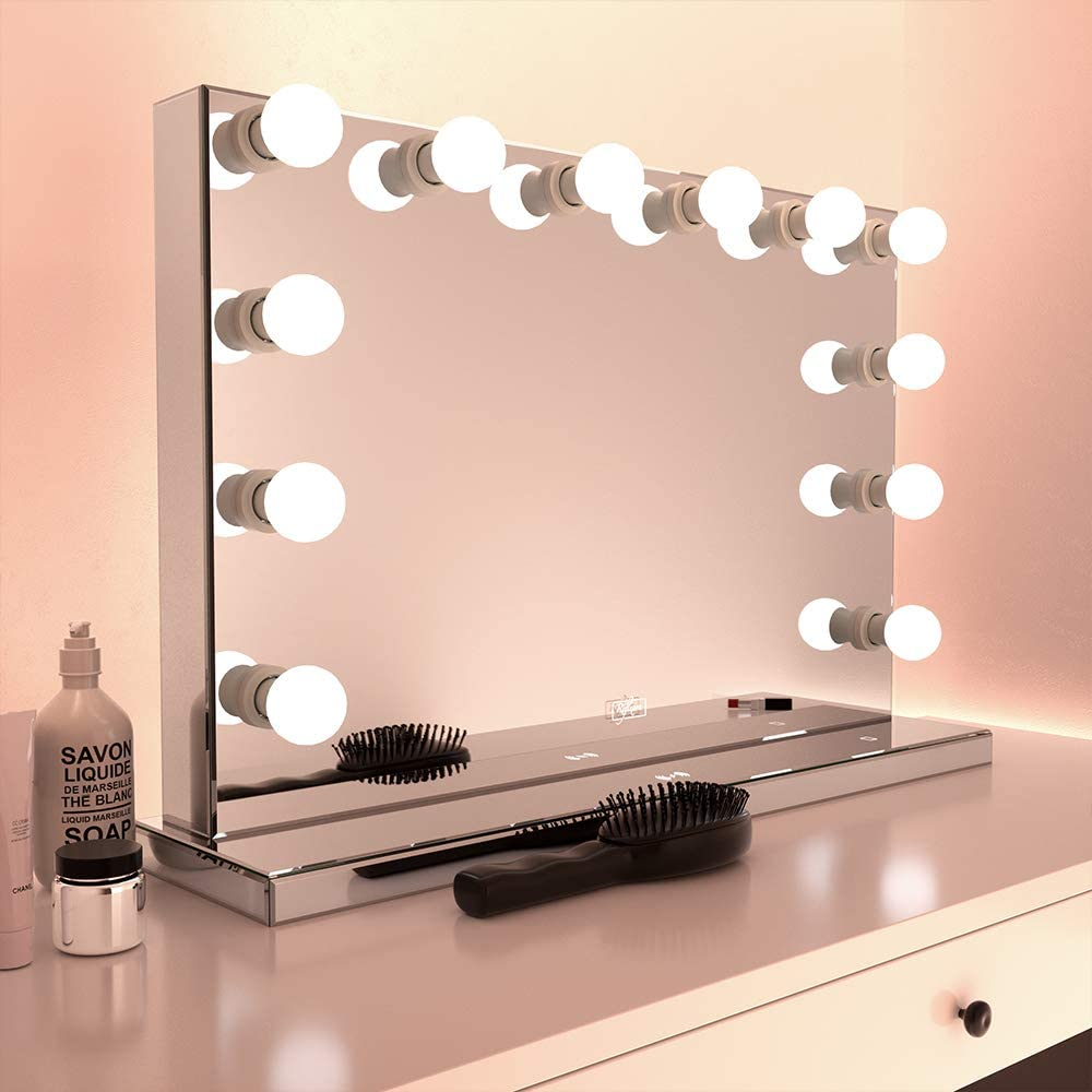 Réflexon 24 x Branded goods 32 Inch Full Max 47% OFF Style LE Hollywood Frameless Mirrored