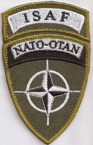 Patch ISAF NATO OTAN Afganistan Bundeswehr Military Aufnäher Abzeichen