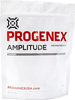 PROGENEX® Amplitude Creatine Peptides | Increases Lean Muscle Mass | Augments Energy and Explosiveness in W...