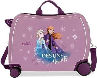 Disney Frozen Die Eiskönigin Destiny awaits Kinder-Koffer Violett 50x38x20 cms Hartschalen ABS Kombinationsschloss 38L 2,1...