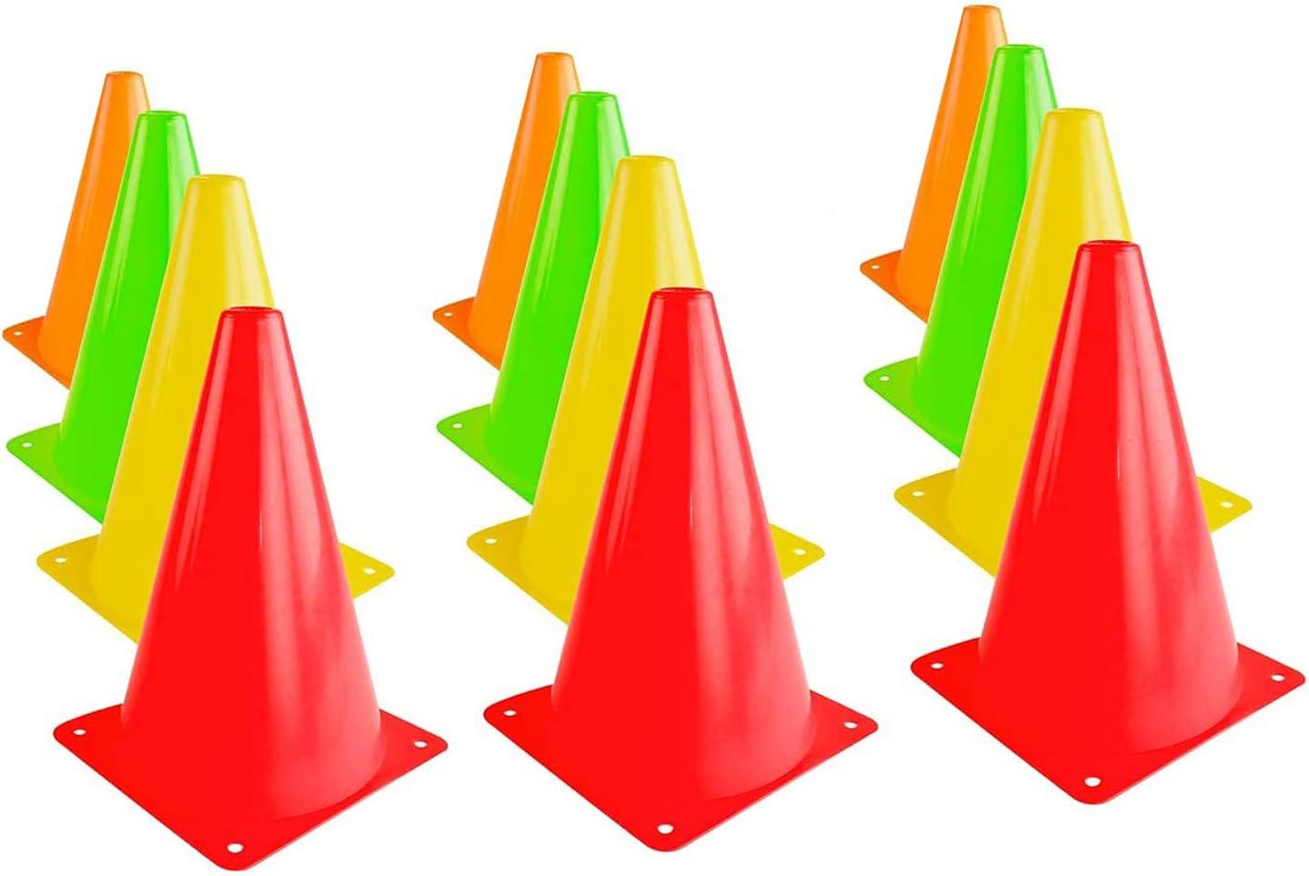 9 Inch Sports Cones Traffic specialty shop Basketball Training Dedication A