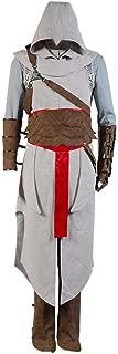 Allten Mens Altair Uniform Outfit Halloween Cosplay Disfraz