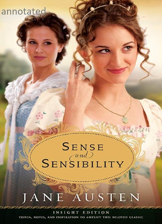 アフリカ人散逸自然Sense and Sensibility by Jane Austen annotated (English Edition)