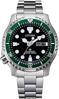 Citizen Reloj Analógico para Hombre de Automático con Correa en Acero Inoxidable NY0084-89E
