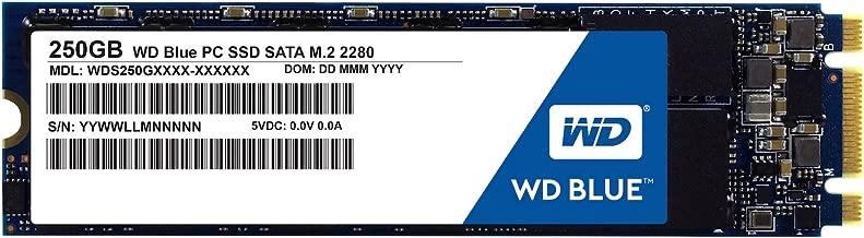 WD Blue 250GB PC SSD - SATA 6 Gb/s M.2 2280 Solid State Drive - WDS250G1B0B [Old Version]