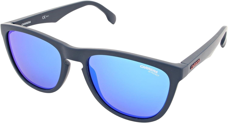 Carrera 5042 S RCT Matte bluee 5042 S Square Sunglasses Lens Category 3 Lens Mir