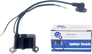 PARTSRUN Genuine Ignition Coil Replaces Mitsubishi Chinese Brush Cutter CG430 CG520 for 40-5 2 Stroke Grass Trimmer ZF297-1