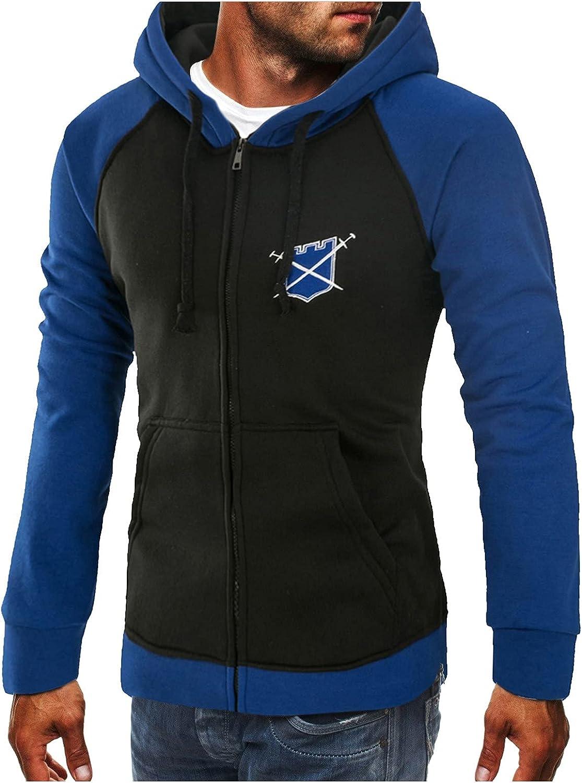 Mens Athletic Hip Hop Premium Fleece Hoodie Pullover Street Fashion Urbanwear Henley Hooded Sweatshirt Lightweight