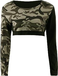 d6dcc112ca584 Femme Sport T Shirt Top Et Leggings Militaire Pantalon Gym Yoga Jogging  Fitness