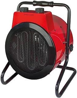 Toolland Potente Calefactor de diseño Calefactor con 3Niveles de Calor, termostato,