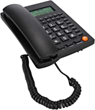 $31 » Queen.Y Corded Phone Desk Landline Telephone with Backlit Display Caller ID & Call Waiting Function for Home Office Hotel ...