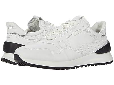 ECCO Astir Athletic Sneaker (White/Black) Men