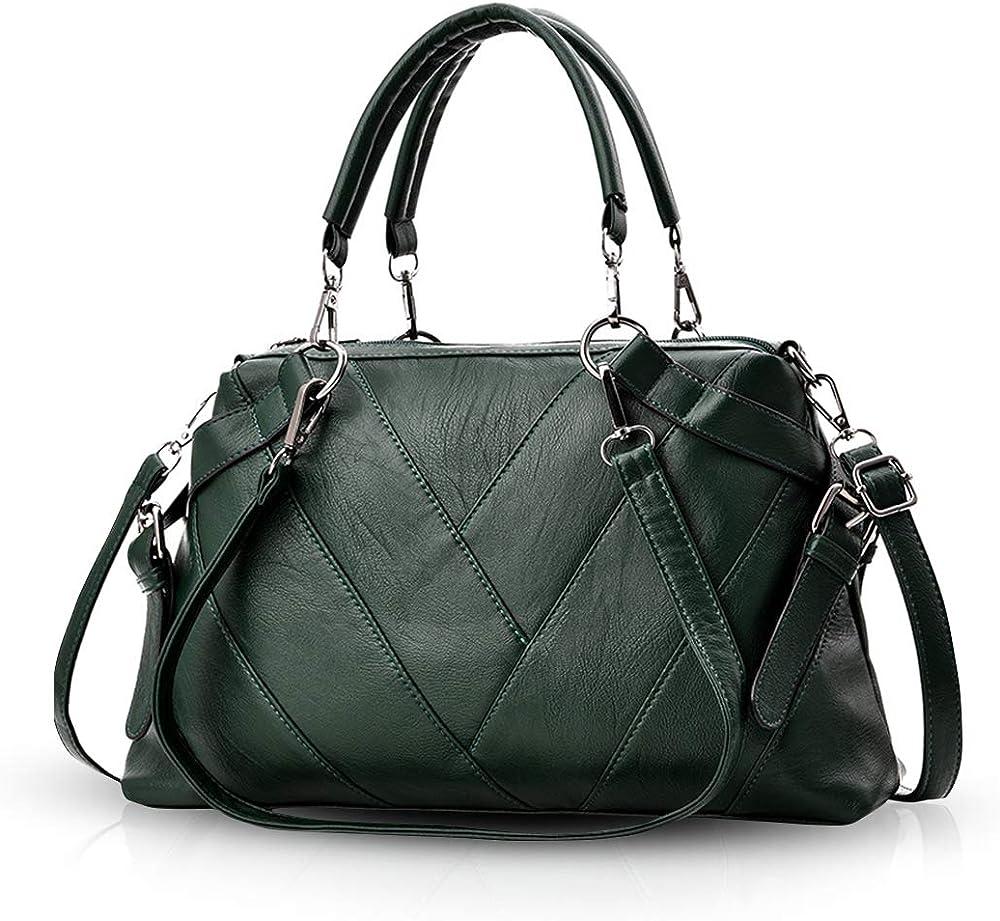 Nicole & doris, borsa da donna,a mano/tracolla, in pelle sintetica ND-ABV006