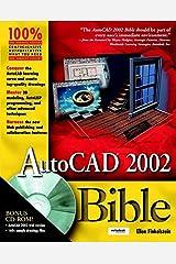 AutoCAD 2002 Bible Paperback