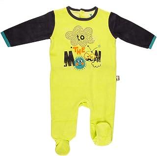Pijama bebé terciopelo Rêveur–Talla–12meses (80cm)