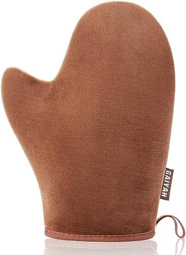 GAIYAH Self Tanning Mitt Applicator Self Tanner Mitt Applicator Tanning Mitts Self Tanner With Thumb Ultra Soft Tanni...