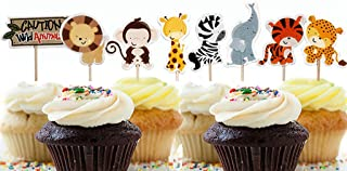 muffin cake toppers