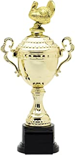 Express Medals Gold Turkey Trophy Cup with Engraved Personalized Plate