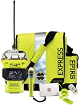 ACR GlobalFix PRO EPIRB Survival Kit (ACR-2257.2) with C-Strobe H2O Rescue Light, HemiLight 3, RapidDitch Express Bag and Hot Shot Signal Mirror with Res-Q Whistle