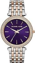 Michael Kors Darci Watch for Women - Analog Stainless Steel Band - MK3353