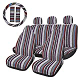 uxcell 10pcs Blanket Durable Bucket Seat Cover Protector for Car Auto Vehicle