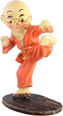 JaipurCrafts Collection Kung-Fu Kid Showpiece
