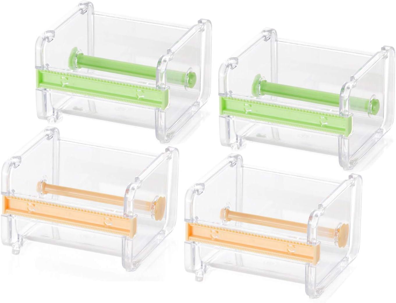 Molshine 4 Pack Transparent Ranking TOP14 2021 Visible Desktop Multi Masking Washi