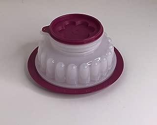 Tupperware Small 2 1/2 c Jel-Ring Jello Mold Holiday