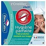 Bleu Câlin Lot de 2 Oreillers Hygiène Parfaite Anti-Acariens Blancs 60x60 cm OBIH