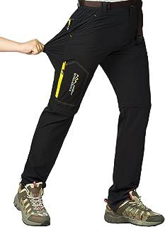 CLOUSPO 登山パンツ メンズ アウトドアロングパンツ クライミングパンツ春夏秋用 薄手 トレッキングパンツ ズボン 通気速乾 耐磨耗 コンパーチブル 2way 取り外し