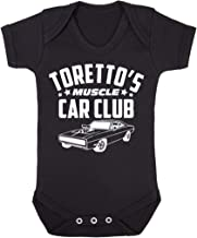 Cloud City 7 Fast and The Furious Torettos Muscle Car Club Baby Grow Short Sleeve