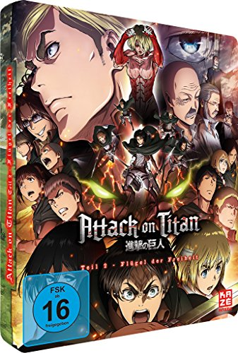Attack on Titan - Anime Movie Teil 2: Flügel der Freiheit - [Steelcase] - [Blu-ray] - [Limited Edition]